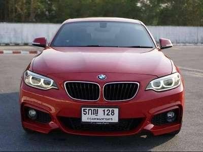 BMW SERIES 2 220I M SPORT 2015