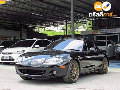 MAZDA MX-5 2DR CONVERTIBLE 1.8I 6MT 2002