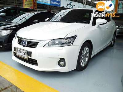 LEXUS CT SPORT CVT FWD 1.8I (CBU) 4DR HATCHBACK 1.8I 0AT 2011