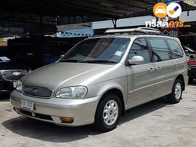 KIA CARNIVAL GS 7ST 4DR WAGON 2.4I 4AT 2001