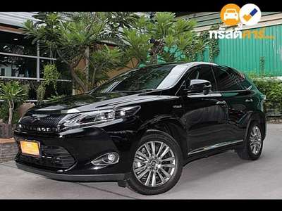 TOYOTA HARRIER 4DR HYBRID PREMIUM SUV 2.5I 4AT 2014