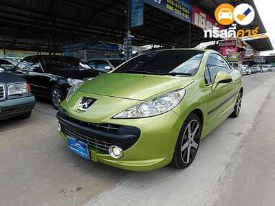 PEUGEOT 207 2DR CONVERTIBLE 1.6I 4AT 2008
