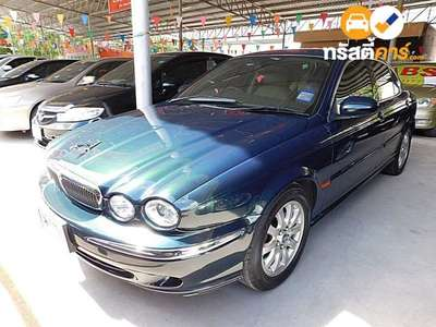 JAGUAR X-TYPE 4DR SEDAN 2.5I 5AT 2001