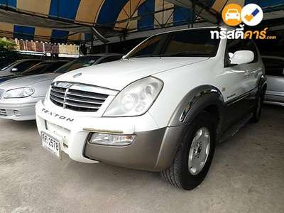SSANGYONG SSANGYONG REXTON RX 7ST TIPTRONIC 4DR WAGON 2.7DCT 5AT 2004