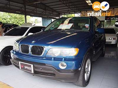 BMW X5 STEPTRONIC 4DR SUV 3.0I 5AT 2002