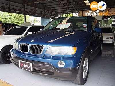 BMW X5 STEPTRONIC 4DR SUV 3.0I 5AT 2002