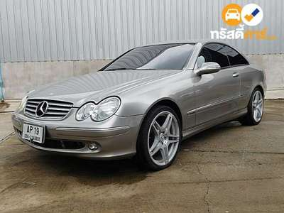 BENZ CLK-Class ELEGANCE CLK200 KOMPRESSOR 2DR COUPE 1.8IS 5AT 2012