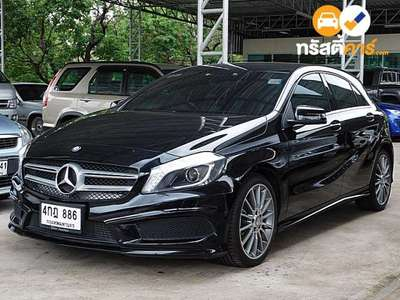 BENZ A-Class AMG SPORT SA A180 BLUEEFFICIENCY 4DR MPV 1.6I 7AT 2015