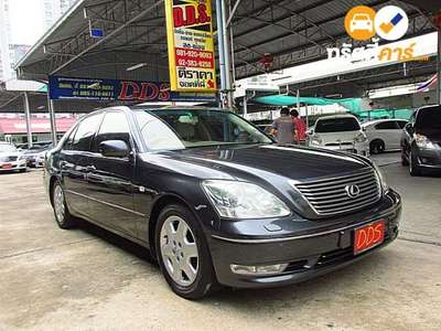 LEXUS LS 4DR SEDAN 4.3I 5AT 2004