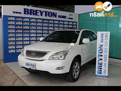 TOYOTA HARRIER 240G 4DR SUV 2.4I 4AT 2007