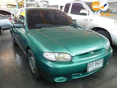 HYUNDAI ACCENT SPRINT L 4DR SEDAN 1.5I 5MT 1999