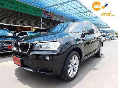 BMW X3 XDRIVE 20D STEPTRONIC 4DR SUV 2.0DCT 8AT 2014