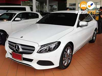 BENZ C-Class C200 AVANTGARDE G-TRONIC PLUS 4DR SEDAN 2.0TI 7AT 2016