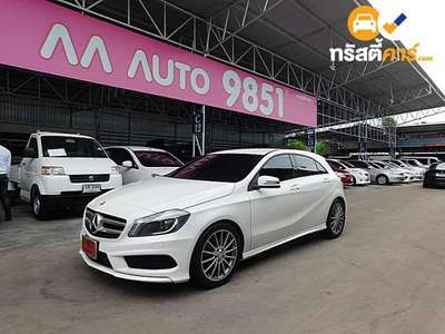 BENZ A-Class STYLE SA A180 BLUEEFFICIENCY 4DR MPV 1.6I 7AT 2014