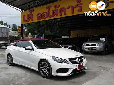 BENZ E-Class E200 AMG DYNAMIC G-TRONIC PLUS 2DR COUPE 2.0TI 7AT 2016