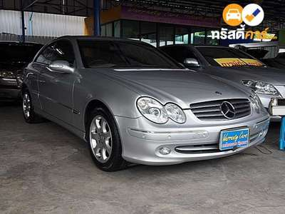 BENZ CLK-Class ELEGANCE CLK200 KOMPRESSOR 2DR COUPE 1.8IS 5AT 2004