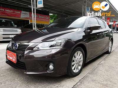LEXUS CT SPORT CVT FWD 1.8I (CBU) 4DR HATCHBACK 1.8I 0AT 2012