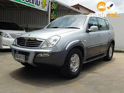 SSANGYONG SSANGYONG REXTON RX 7ST TIPTRONIC 4DR WAGON 2.7DCT 5AT 2005