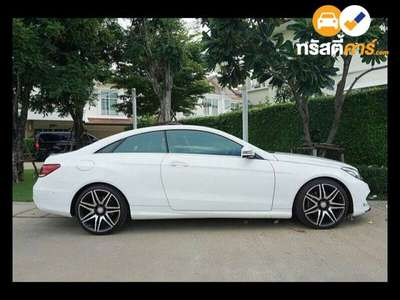BENZ E-Class AMG DYNAMIC G-TRONIC PLUS E200 2DR COUPE 2.0TI 7AT 2015