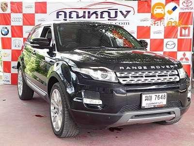 LANDROVER RANGE ROVER EVOQUE SD4 SA ROVER 2DR SUV 2.2DTI 6AT 2012