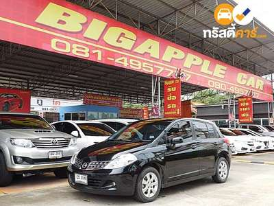 NISSAN TIIDA G 4DR HATCHBACK 1.8I 4AT 2013