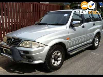 SSANGYONG MUSSO 602 EL 4DR WAGON 2.9D 4AT 2000