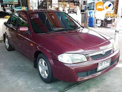 MAZDA 323 PROTEGE GLX 4DR SEDAN 1.6I 4AT 2001