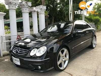 BENZ CLK-Class ELEGANCE CLK200 KOMPRESSOR 2DR COUPE 1.8IS 5AT 2003