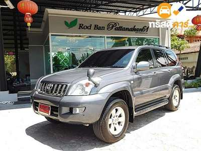 TOYOTA LAND CRUISER 7ST PRADO 4DR SUV 3.4I 4AT 2005