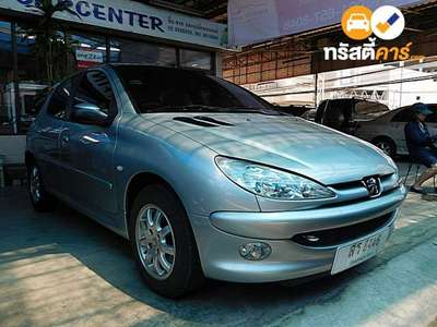 PEUGEOT 206 XS SA 4DR HATCHBACK 1.4I 4AT 2006