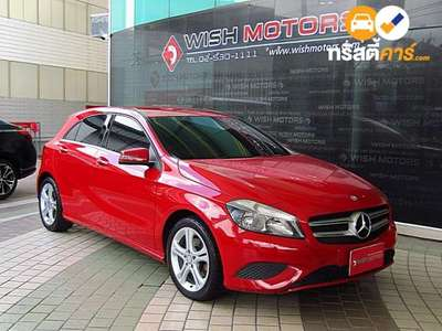 BENZ A-Class STYLE SA A180 BLUEEFFICIENCY 4DR MPV 1.6I 7AT 2015