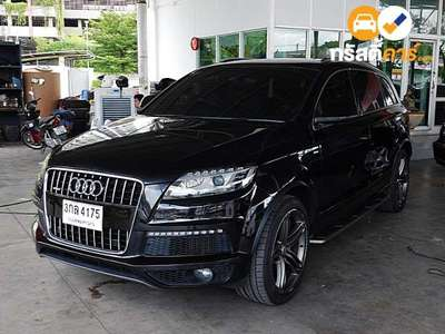 AUDI Q7 QUATTRO 7ST TIPTRONIC 4DR WAGON 3.0DTI 6AT 2011