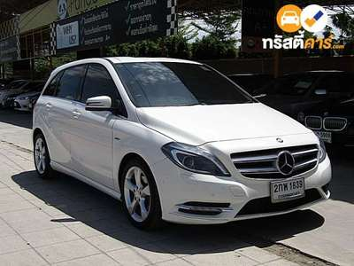 BENZ B-Class SPORT CVT B180 CDI 4DR HATCHBACK 1.6ITI 7AT 2013