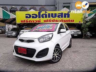KIA PICANTO K1 4DR HATCHBACK 1.2I 4AT 2012