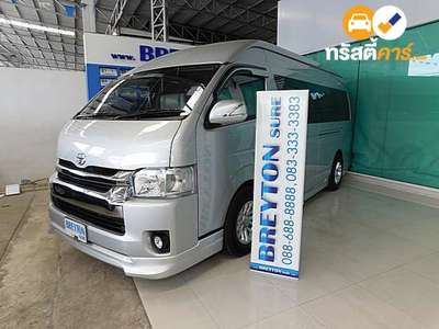TOYOTA COMMUTER HRF 16ST 3DR VAN 3.0DCT 4AT 2015