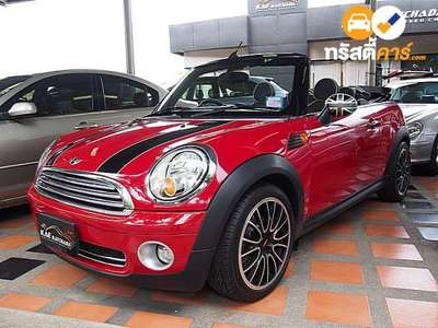 MINI COUPE CVT 2DR CONVERTIBLE 1.6I 6AT 2014