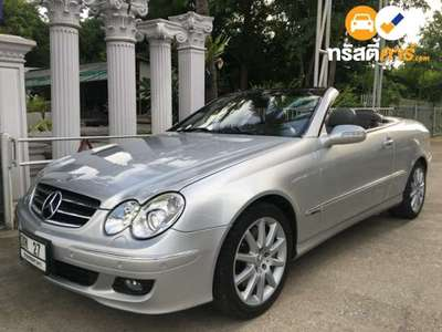 BENZ CLK-Class AVANTGARDE CLK200 KOMPRESSOR 2DR CONVERTIBLE 1.8IS 5AT 2009