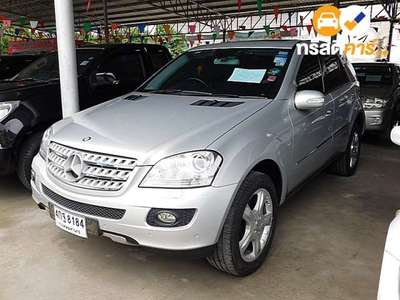 BENZ ML-Class SPORTS G-TRONIC ML280 CDI 4DR SUV 3.0DTI 7AT 2006