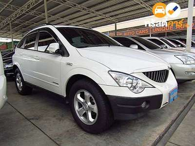 SSANGYONG SSANGYONG ACTYON TECHLINE 4DR WAGON 2.0DCT 4AT 2013