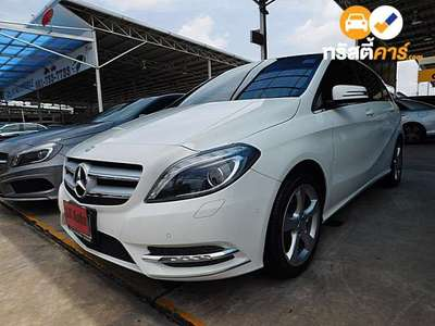 BENZ B-Class SPORTS G-TRONIC B200 BLUEEFFICIENCY 4DR HATCHBACK 1.6I 7AT 2013