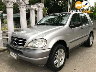 BENZ ML-Class ML320 4DR SUV 3.2I 5AT 2002