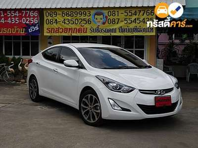 HYUNDAI ELANTRA SPORT GLS SA 4DR SEDAN 1.8I 6AT 2015