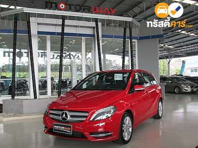 BENZ B-Class SPORT CVT B180 CDI 4DR HATCHBACK 1.6ITI 7AT 2014
