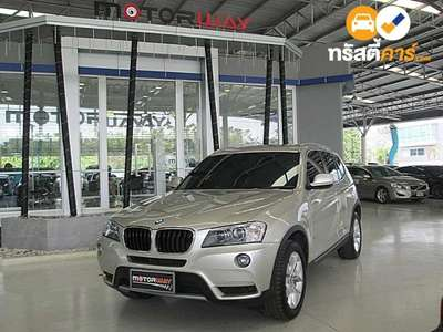 BMW X3 XDRIVE 20D HIGHLINE STEPTRONIC 4DR SUV 2.0DCT 8AT 2012