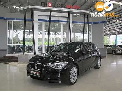 BMW Series 1 STEPTRONIC 116I 4DR HATCHBACK 1.6ITT 8AT 2013