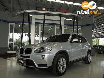 BMW X3 XDRIVE 20D STEPTRONIC 4DR SUV 2.0DCT 8AT 2013