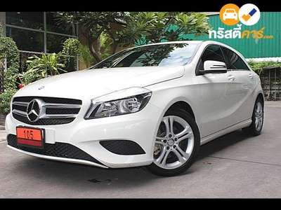 BENZ A-Class AMG SPORT SA A180 BLUEEFFICIENCY 4DR MPV 1.6I 7AT 2014