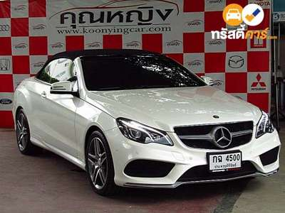 BENZ E-Class AMG DYNAMIC G-TRONIC PLUS E200 2DR CONVERTIBLE 2.0TI 7AT 2015