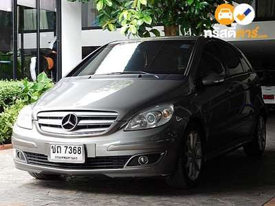 BENZ B-Class SPORT TOURER CVT B180 CDI 4DR HATCHBACK 2.0DTI 7AT 2007