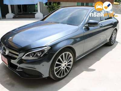 BENZ C-Class C350 BLUE TEC HYBRID AMG DYNAMIC G-TRONIC PLUS 4DR SEDAN 2.1DTT 7AT 2016